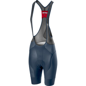 Castelli Free Aero Race 4 Bib Shorts Dame dark/steel blue